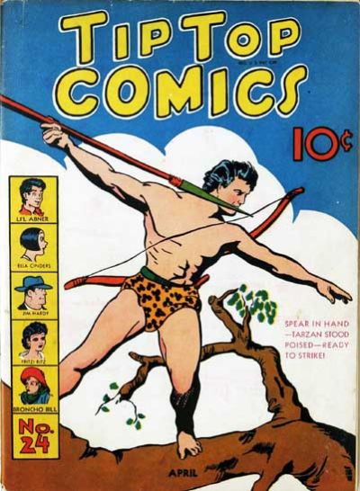 Cover for Tip Top Comics (United Feature, 1936 series) #v2#12 (24)