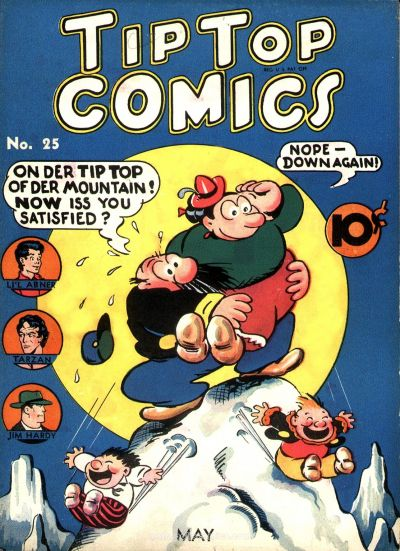 Cover for Tip Top Comics (United Feature, 1936 series) #25