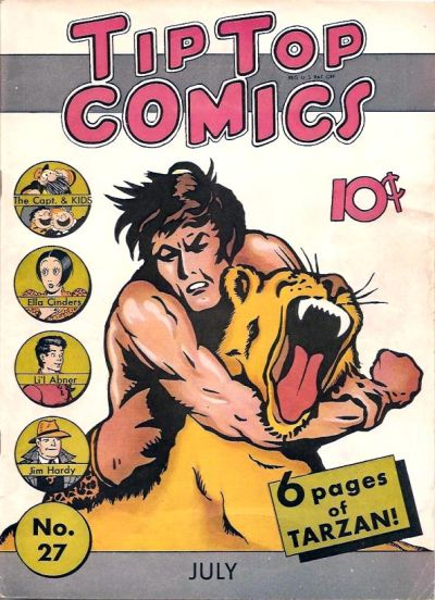 Cover for Tip Top Comics (United Feature, 1936 series) #v3#3 (27)