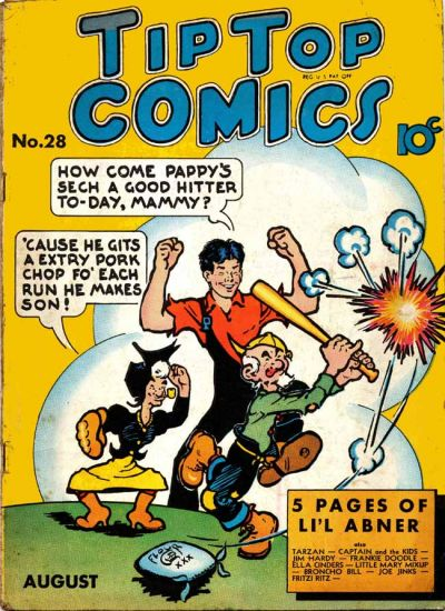 Cover for Tip Top Comics (United Features, 1936 series) #v3#4 (28)