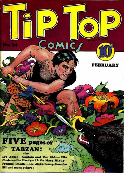 Cover for Tip Top Comics (United Features, 1936 series) #34