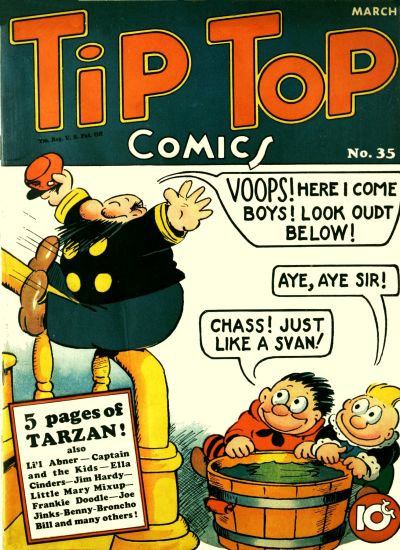 Cover for Tip Top Comics (United Features, 1936 series) #35