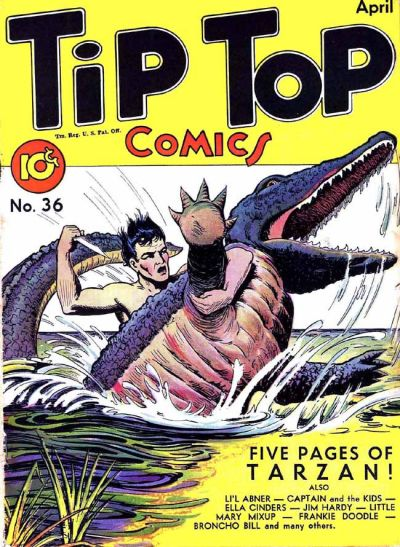 Cover for Tip Top Comics (United Feature, 1936 series) #v3#12 (36)