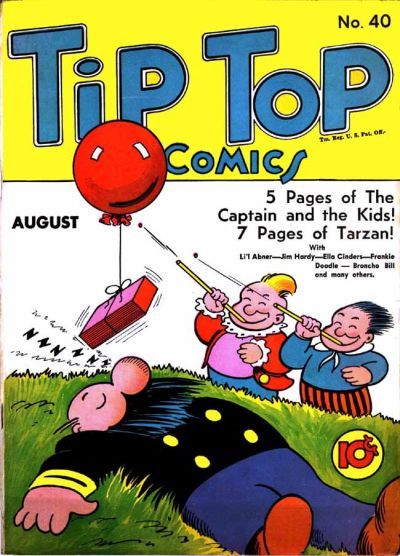 Cover for Tip Top Comics (United Features, 1936 series) #40