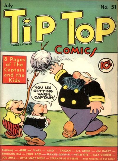 Cover for Tip Top Comics (United Feature, 1936 series) #v5#3 (51)