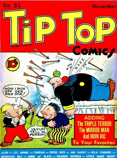 Cover for Tip Top Comics (United Feature, 1936 series) #v5#7 (55)