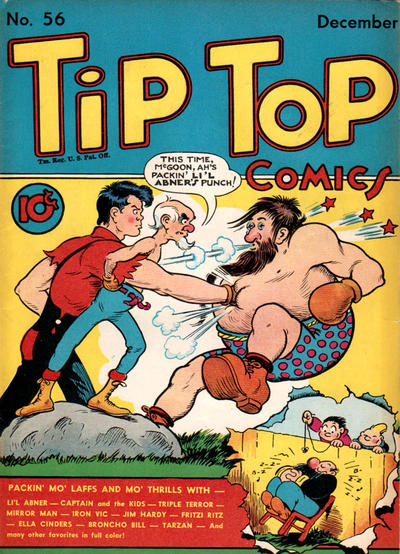 Cover for Tip Top Comics (United Feature, 1936 series) #v5#8 (56)