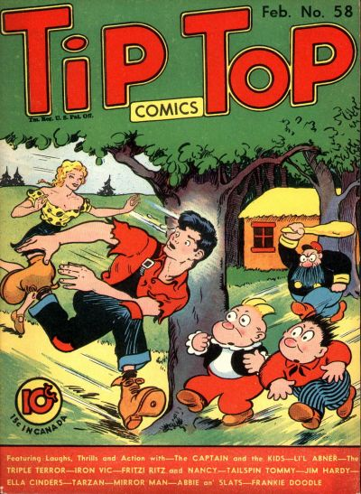 Cover for Tip Top Comics (United Feature, 1936 series) #v5#10 (58)