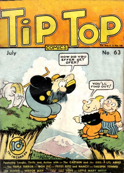 Cover for Tip Top Comics (United Feature, 1936 series) #v6#3 (63)