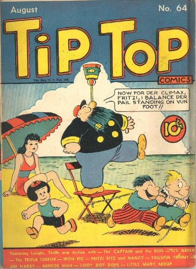 Cover for Tip Top Comics (United Feature, 1936 series) #v6#4 (64)