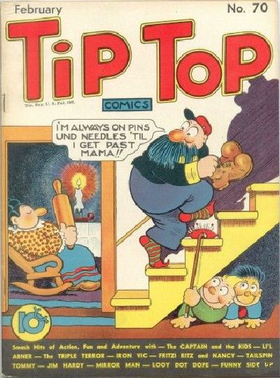Cover for Tip Top Comics (United Feature, 1936 series) #v6#10 (70)