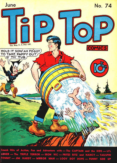 Cover for Tip Top Comics (United Feature, 1936 series) #v7#2 (74)