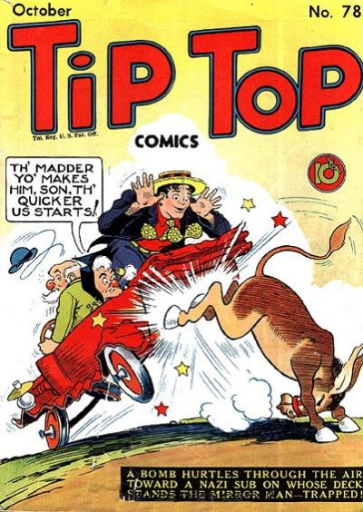 Cover for Tip Top Comics (United Feature, 1936 series) #v7#6 (78)