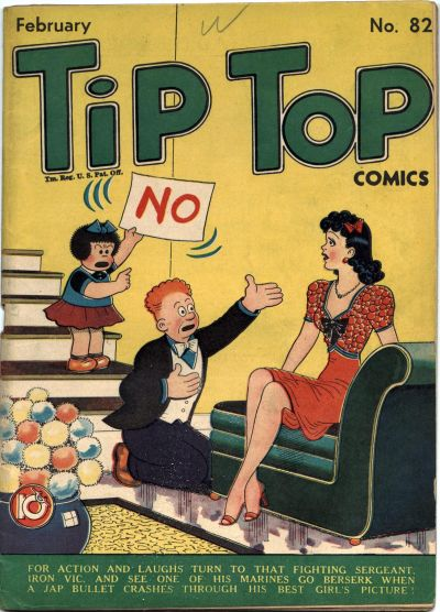Cover for Tip Top Comics (United Feature, 1936 series) #v7#10 (82)