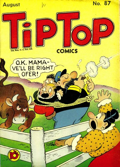 Cover for Tip Top Comics (United Feature, 1936 series) #v8#3 (87)