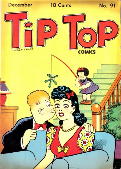 Cover for Tip Top Comics (United Feature, 1936 series) #v8#7 (91)