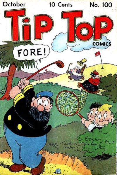 Cover for Tip Top Comics (United Feature, 1936 series) #v9#4 (100)