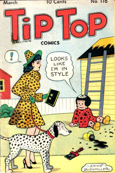 Cover for Tip Top Comics (United Feature, 1936 series) #v10#8 (116)