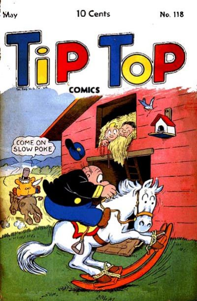 Cover for Tip Top Comics (United Feature, 1936 series) #v10#10 (118)