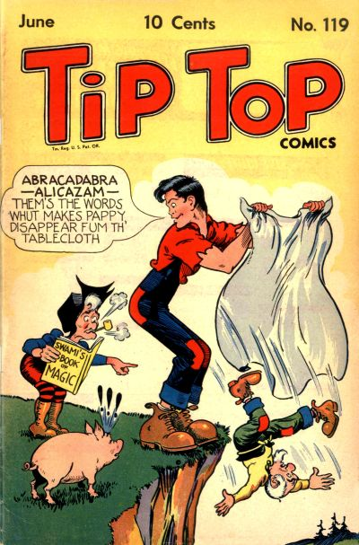 Cover for Tip Top Comics (United Feature, 1936 series) #v10#11 (119)