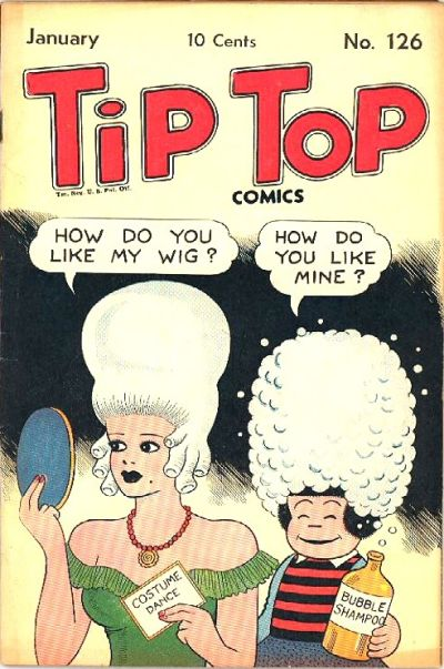 Cover for Tip Top Comics (United Feature, 1936 series) #v11#6 (126)