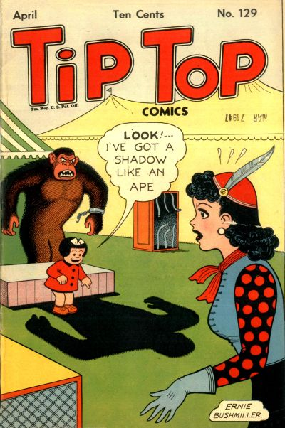 Cover for Tip Top Comics (United Feature, 1936 series) #v11#9 (129)