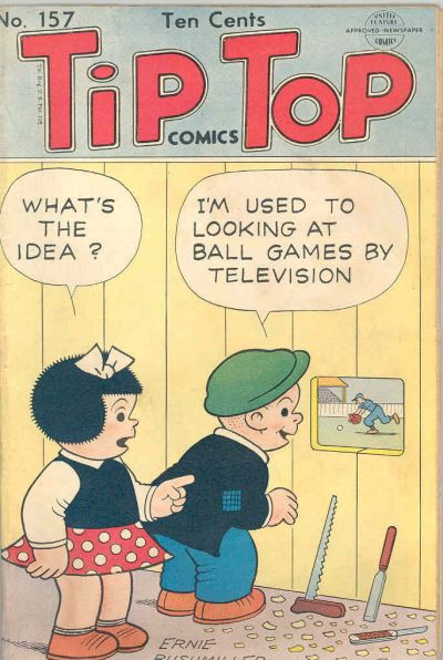 Cover for Tip Top Comics (United Feature, 1936 series) #157