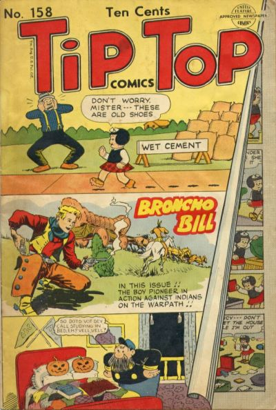 Cover for Tip Top Comics (United Feature, 1936 series) #158