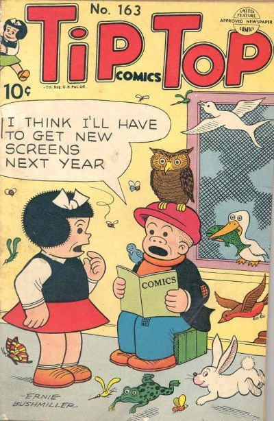 Cover for Tip Top Comics (United Feature, 1936 series) #163