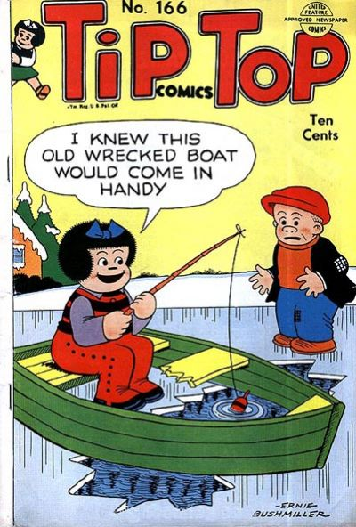 Cover for Tip Top Comics (United Feature, 1936 series) #166