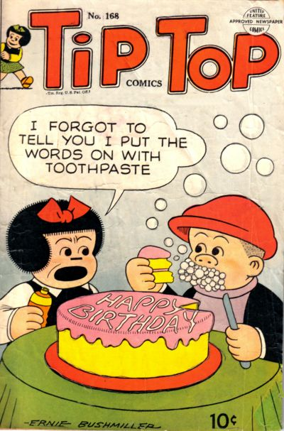 Cover for Tip Top Comics (United Feature, 1936 series) #168