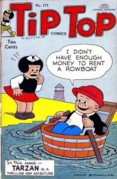 Cover for Tip Top Comics (United Feature, 1936 series) #171