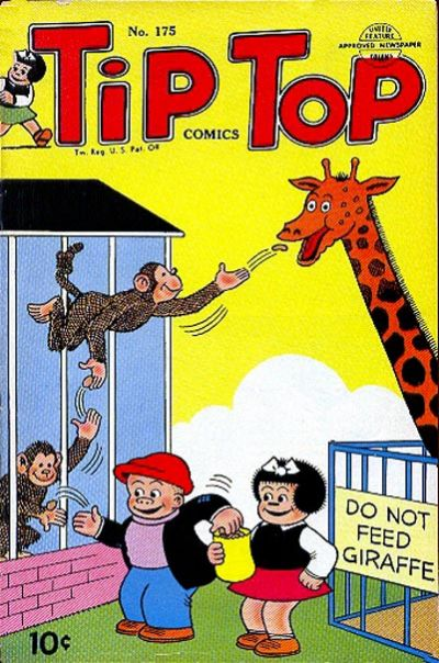 Cover for Tip Top Comics (United Feature, 1936 series) #175