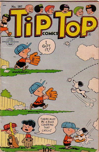 Cover for Tip Top Comics (United Feature, 1936 series) #187
