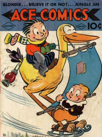 Cover for Ace Comics (David McKay, 1937 series) #22
