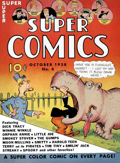 Cover for Super Comics (Western, 1938 series) #6