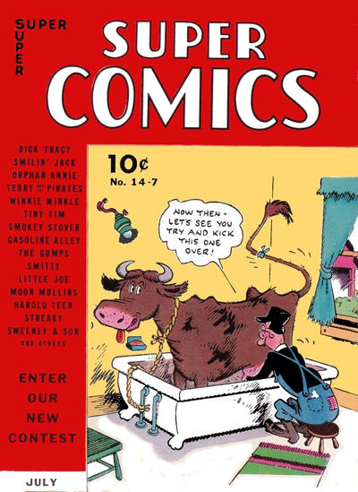 Cover for Super Comics (Western, 1938 series) #14