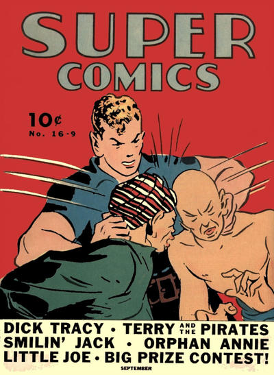 Cover for Super Comics (Western, 1938 series) #16