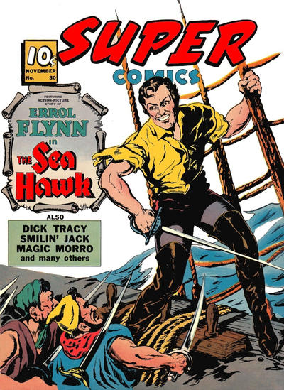Cover for Super Comics (Western, 1938 series) #30
