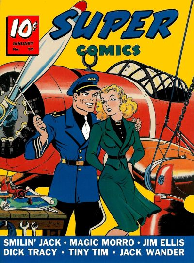 Cover for Super Comics (Western, 1938 series) #32