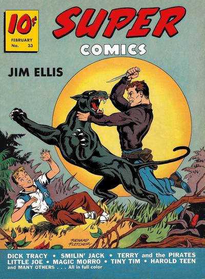 Cover for Super Comics (Western, 1938 series) #33