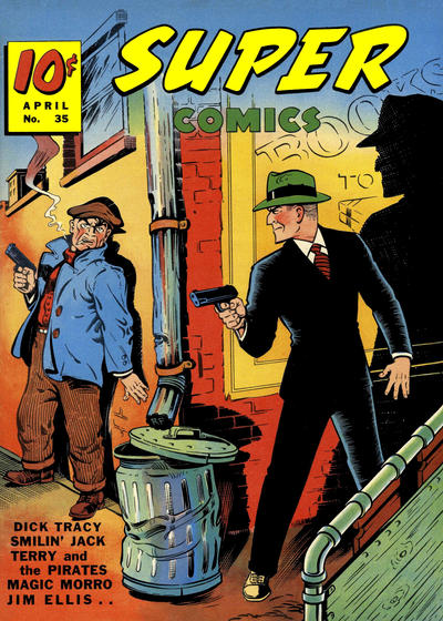 Cover for Super Comics (Western, 1938 series) #35
