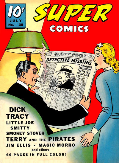 Cover for Super Comics (Western, 1938 series) #38