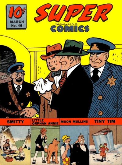Cover for Super Comics (Western, 1938 series) #46