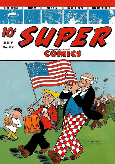 Cover for Super Comics (Western, 1938 series) #62