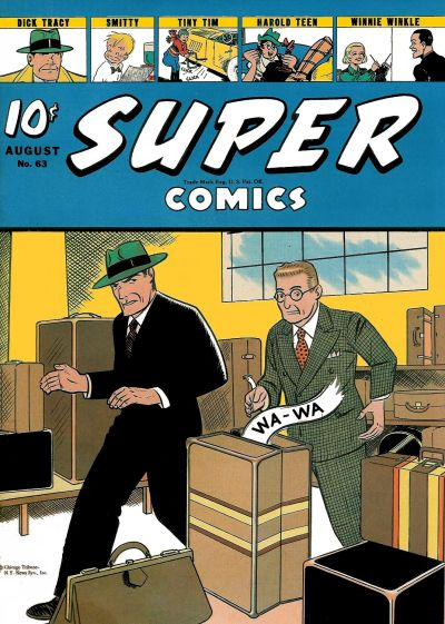 Cover for Super Comics (Western, 1938 series) #63