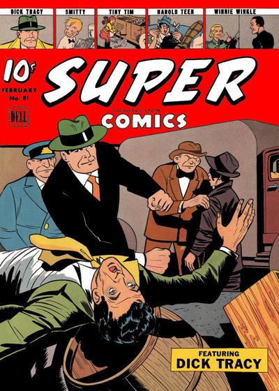 Cover for Super Comics (Dell, 1943 series) #81