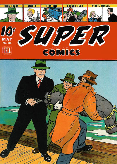 Cover for Super Comics (Dell, 1943 series) #84