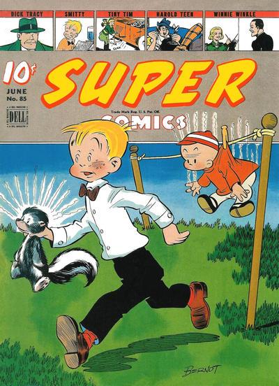 Cover for Super Comics (Dell, 1943 series) #85