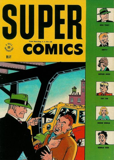Cover for Super Comics (Dell, 1943 series) #96